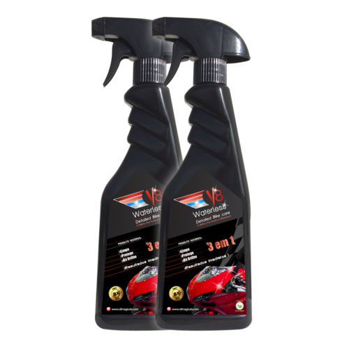V8 Waterless Bike Wash Pack 2