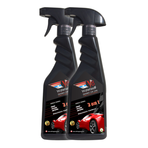 V8 Waterless Car Wash Pack 2